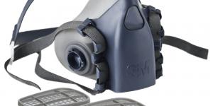 3m half face respirators